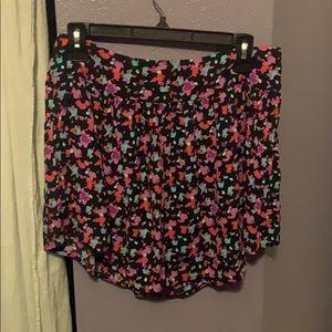Cute multicolor confetti skirt